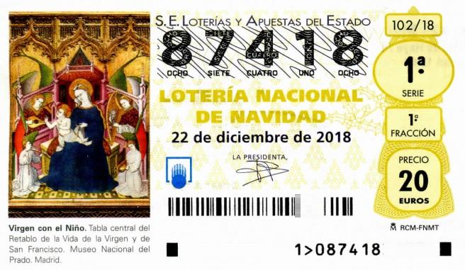 LOTERIA NACIONAL DE NAVIDAD