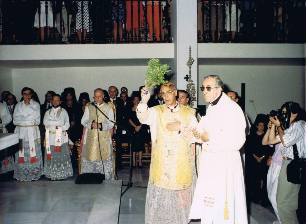 Consagración del templo, 6 de junio de 1988