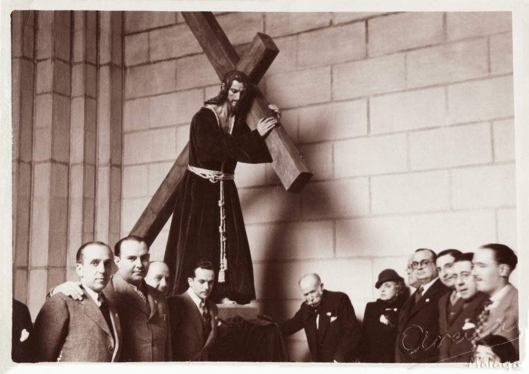 Llegada del Dulce Nombre de Jesús Nazareno del Paso, 1940