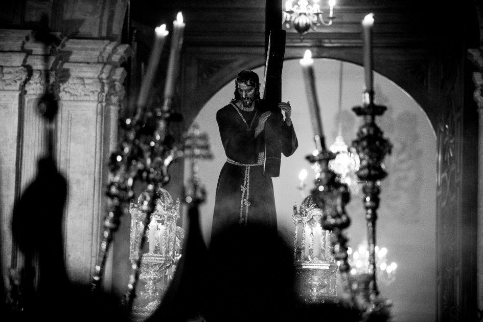 Sale el Nazareno del Paso de la Catedral