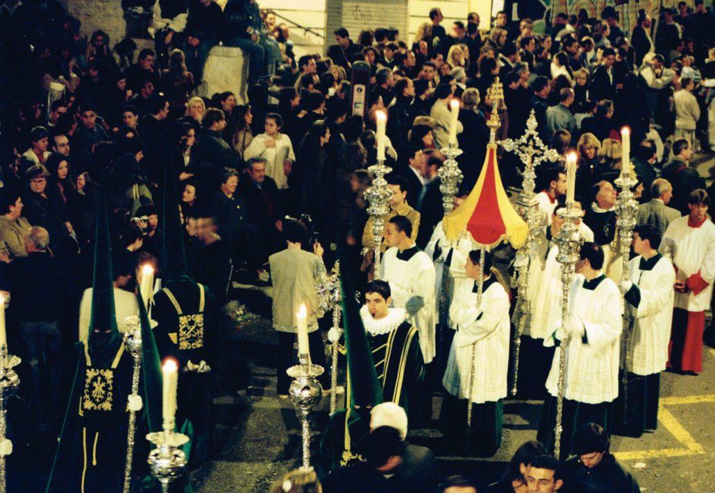 Sección basilical durante la procesión del Jueves Santo de 2003