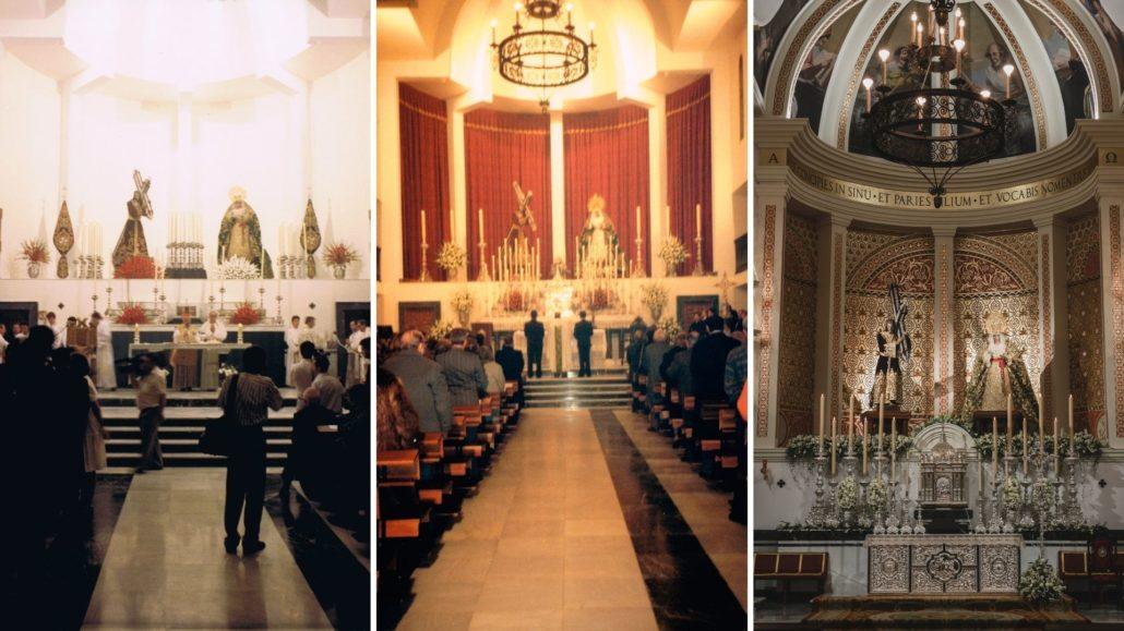 Evolución cabecera de la Basílica