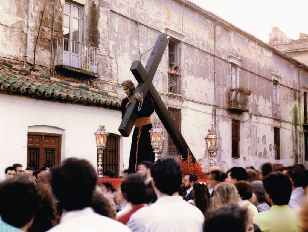 Traslado del Nazareno del Paso a la Basílica, 29 de mayo de 1988
