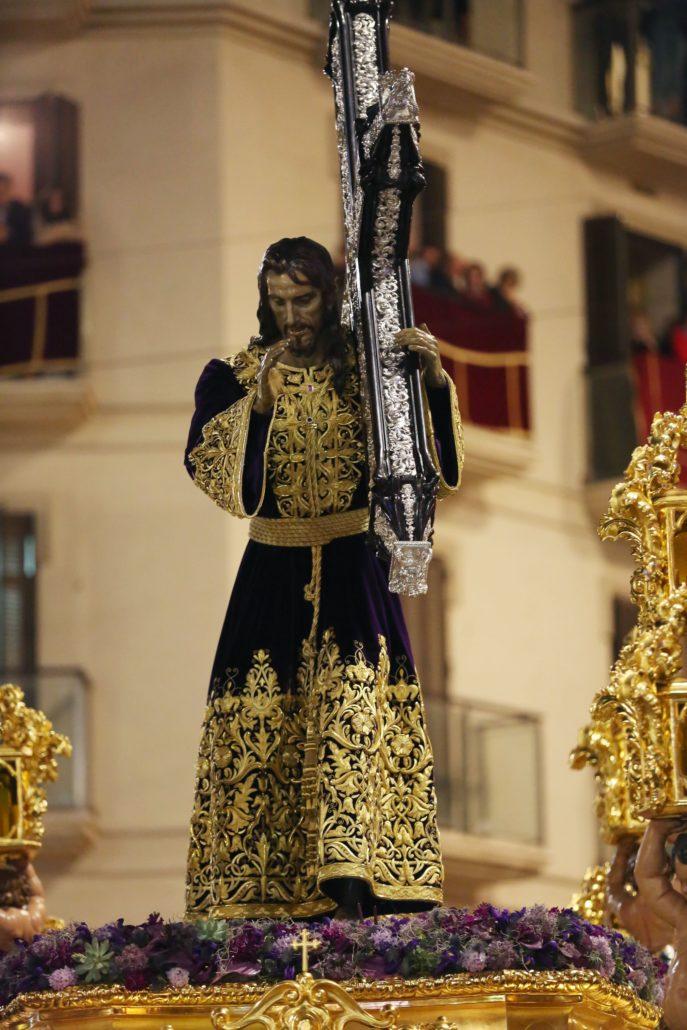 El Dulce Nombre de Jesús Nazareno del Paso bendice a su pueblo en la Semana Santa de 2018