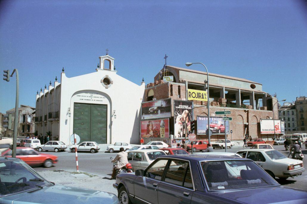 Proceso de construcción del templo, 1986