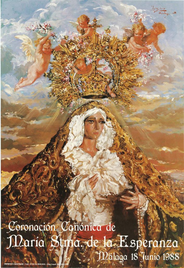 Cartel Coronación Canónica 1988
