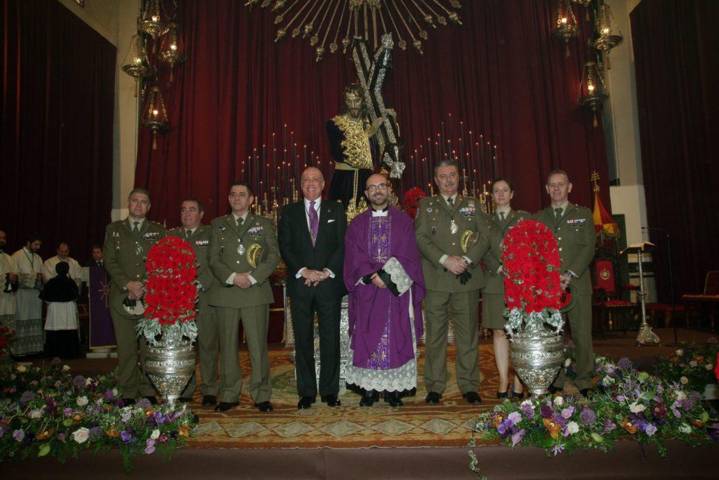 Los Intendentes, el día de la función principal al Nazareno del Paso estrenando la nueva túnica