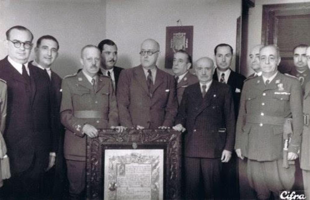 Foto CIFRA. Diario SUR, de 25.07.1943